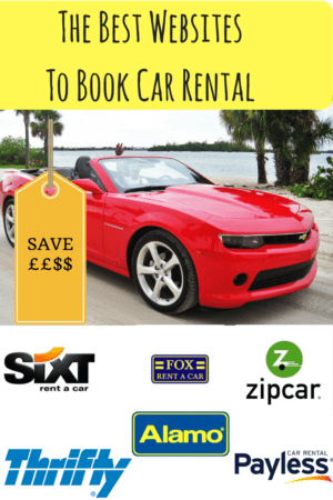 The Best Websites to Book Car Rental