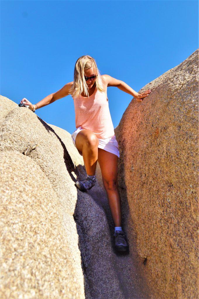 Climbing Skull Rock, Joshua Tree National Park