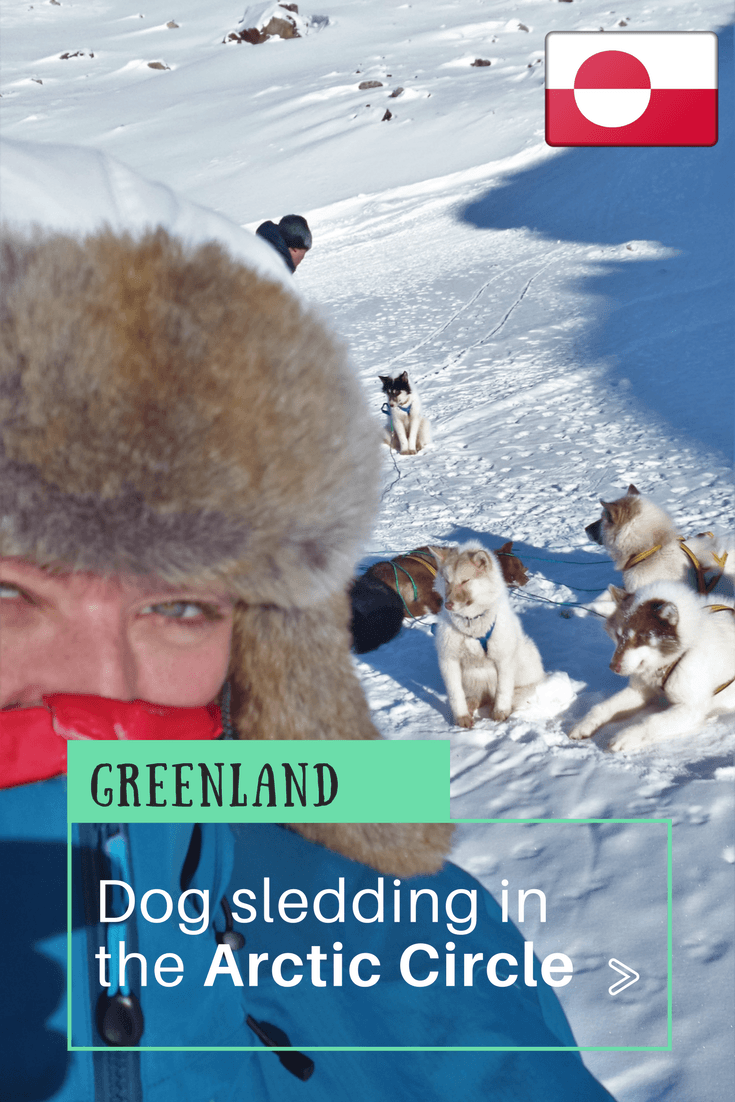 Dog Sledding Arctic Circle, Greenland