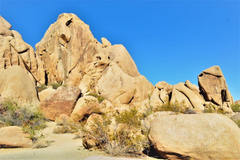 Joshua Tree rock formations, California
