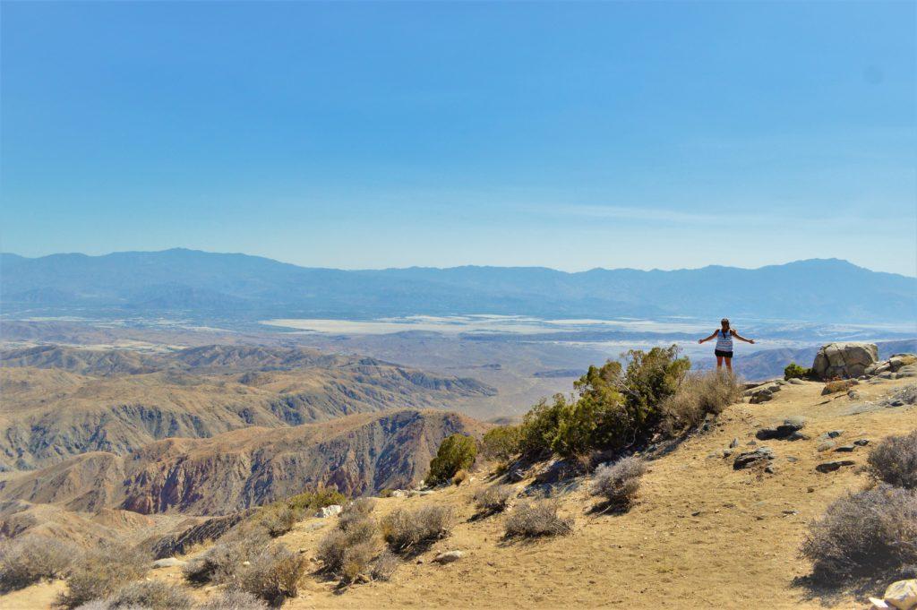Keys view, Joshua Tree, California