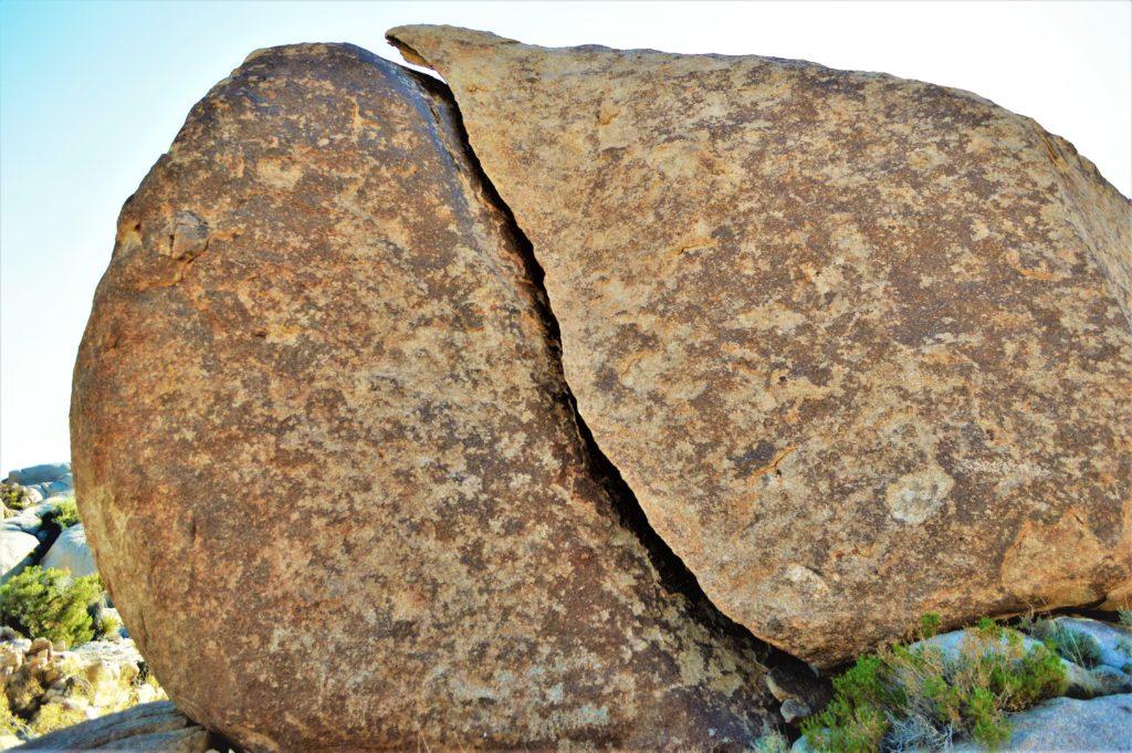Split Rock, Joshua Tree, California