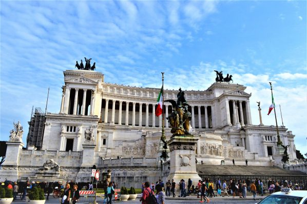 Altar of the Fatherland view, Rome, Italy