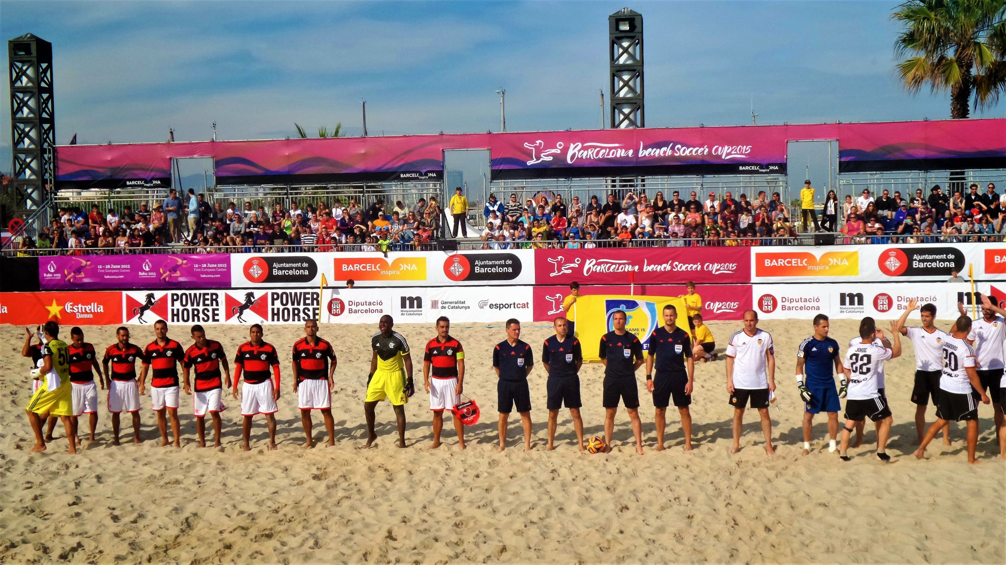 Barcelona Beach Soccer Cup, Spain