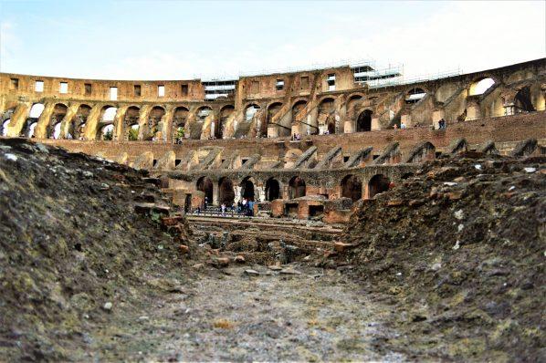 Inside The Colosseum, Rome