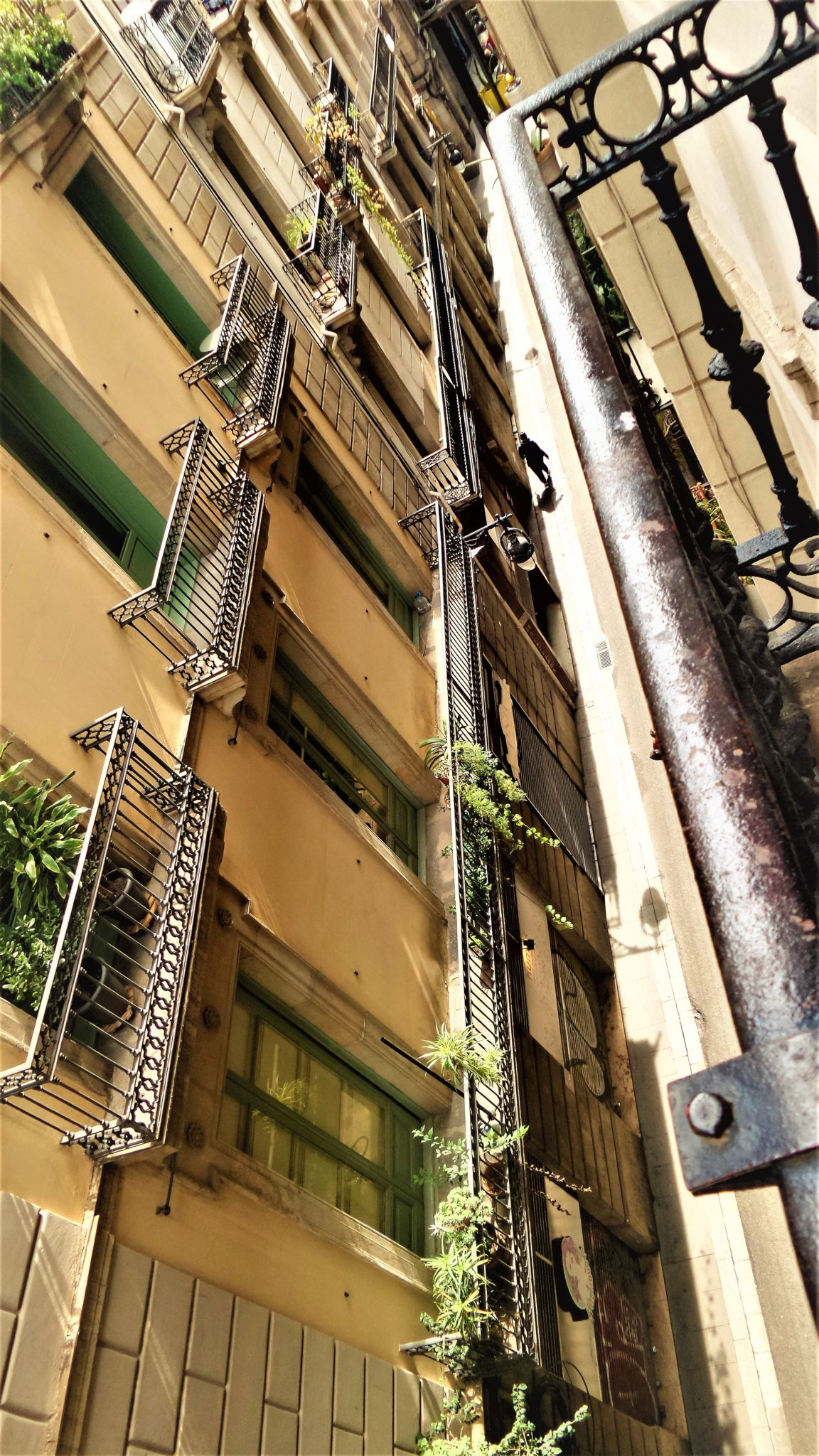 Gothic Quarter narrow streets, Barcelona, Spain