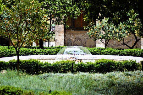 Hidden gardens, Rome, Italy