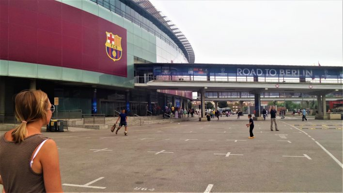 Nou Camp, Barcelona, Spain