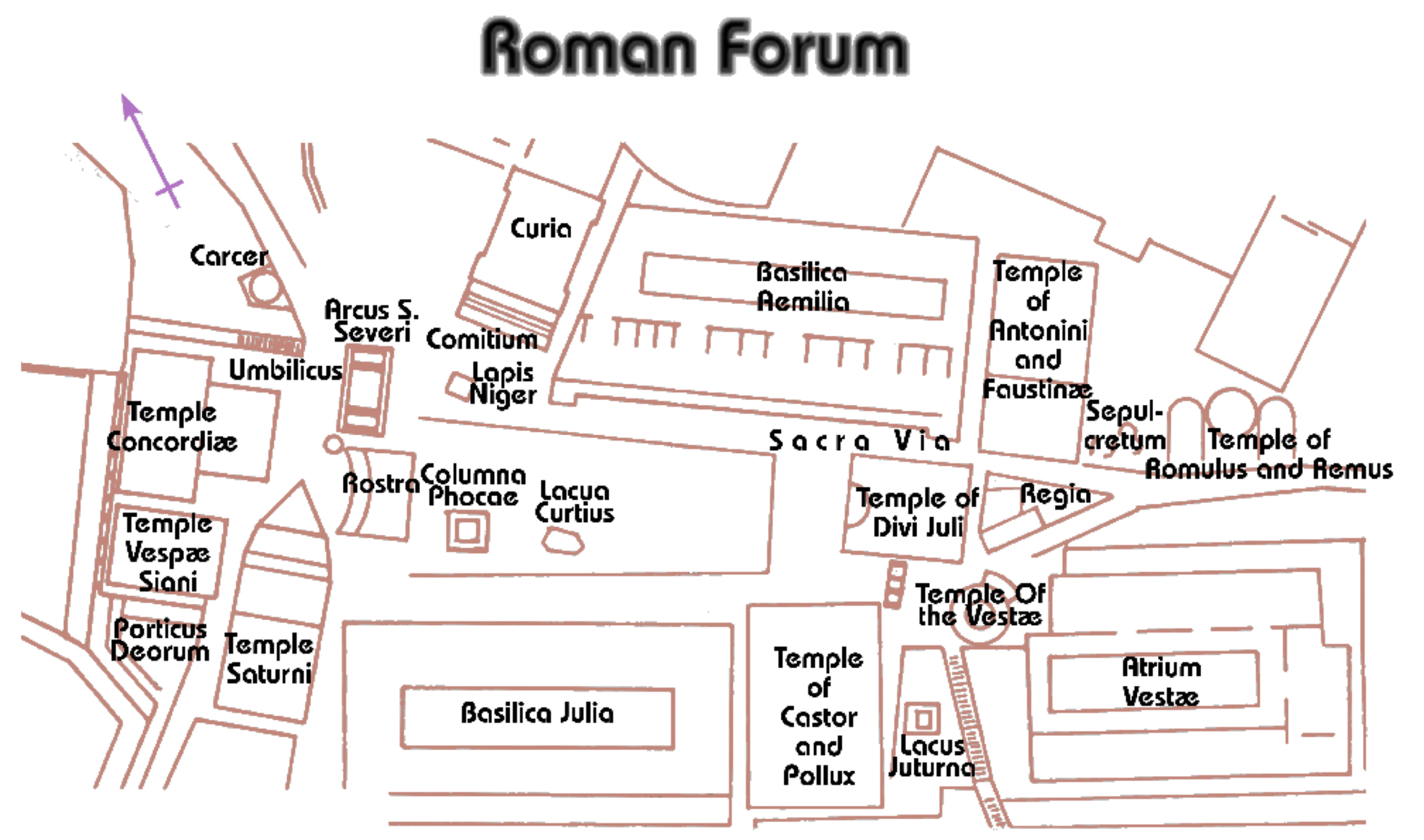 the roman forum essay The roman government of the old republic had created a unique system of the division of power which was a safeguard against oppression by any single individual power, for the most part, lay with a voting public.