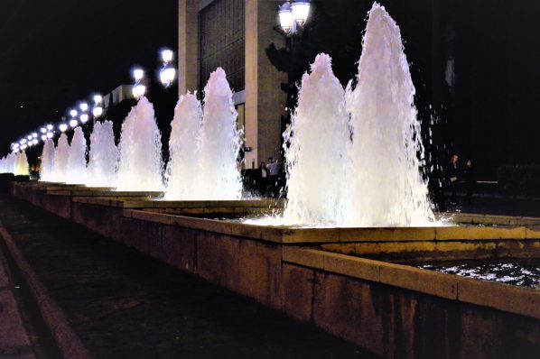 Street Fountains, Barcelona, Spain