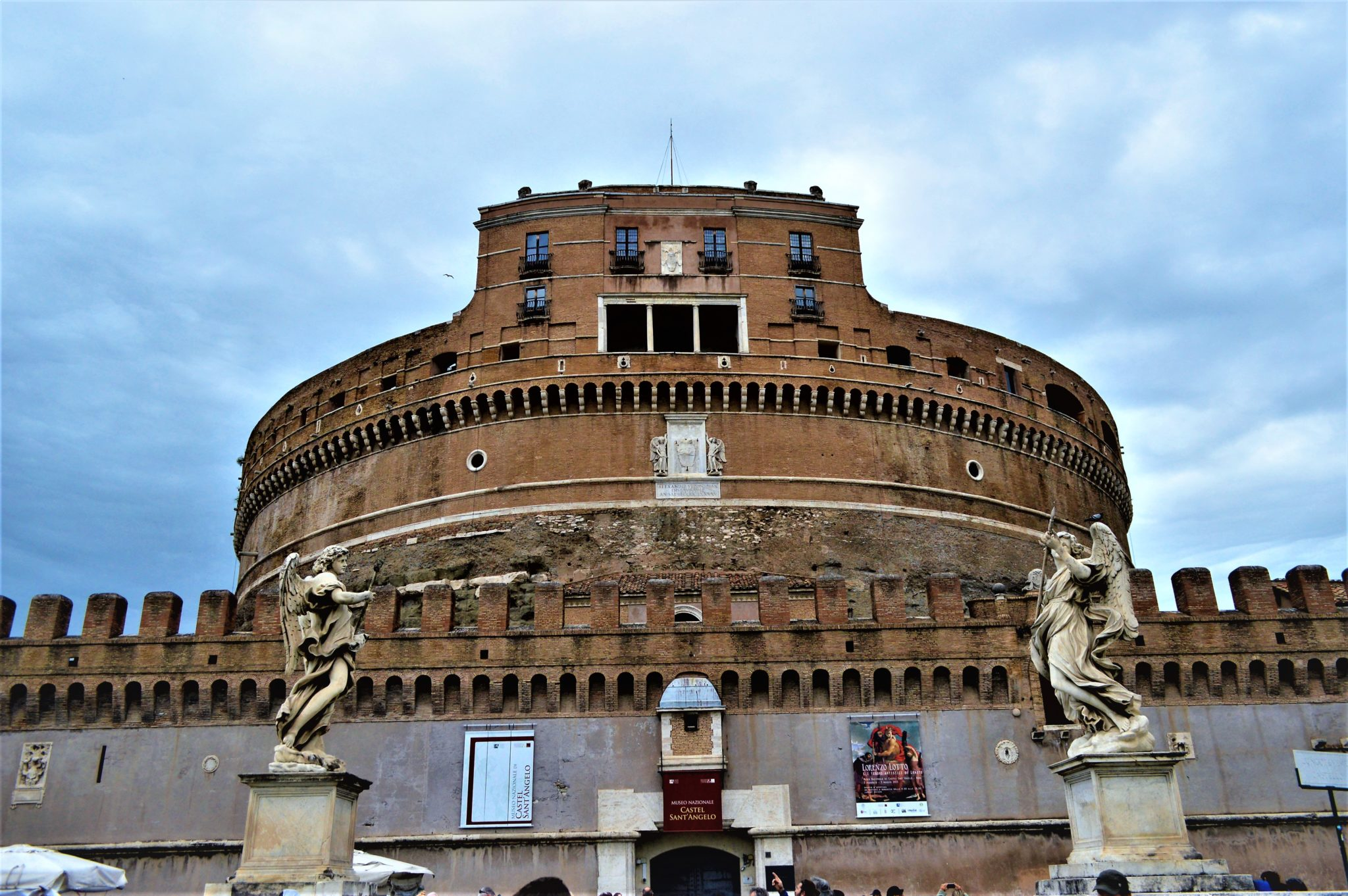 The Castel St'Angelo, Rome, Italy