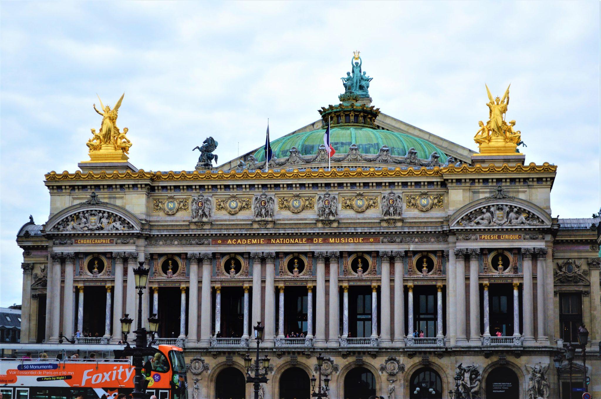 3 days in Paris Acadmie National De Music, Paris, France