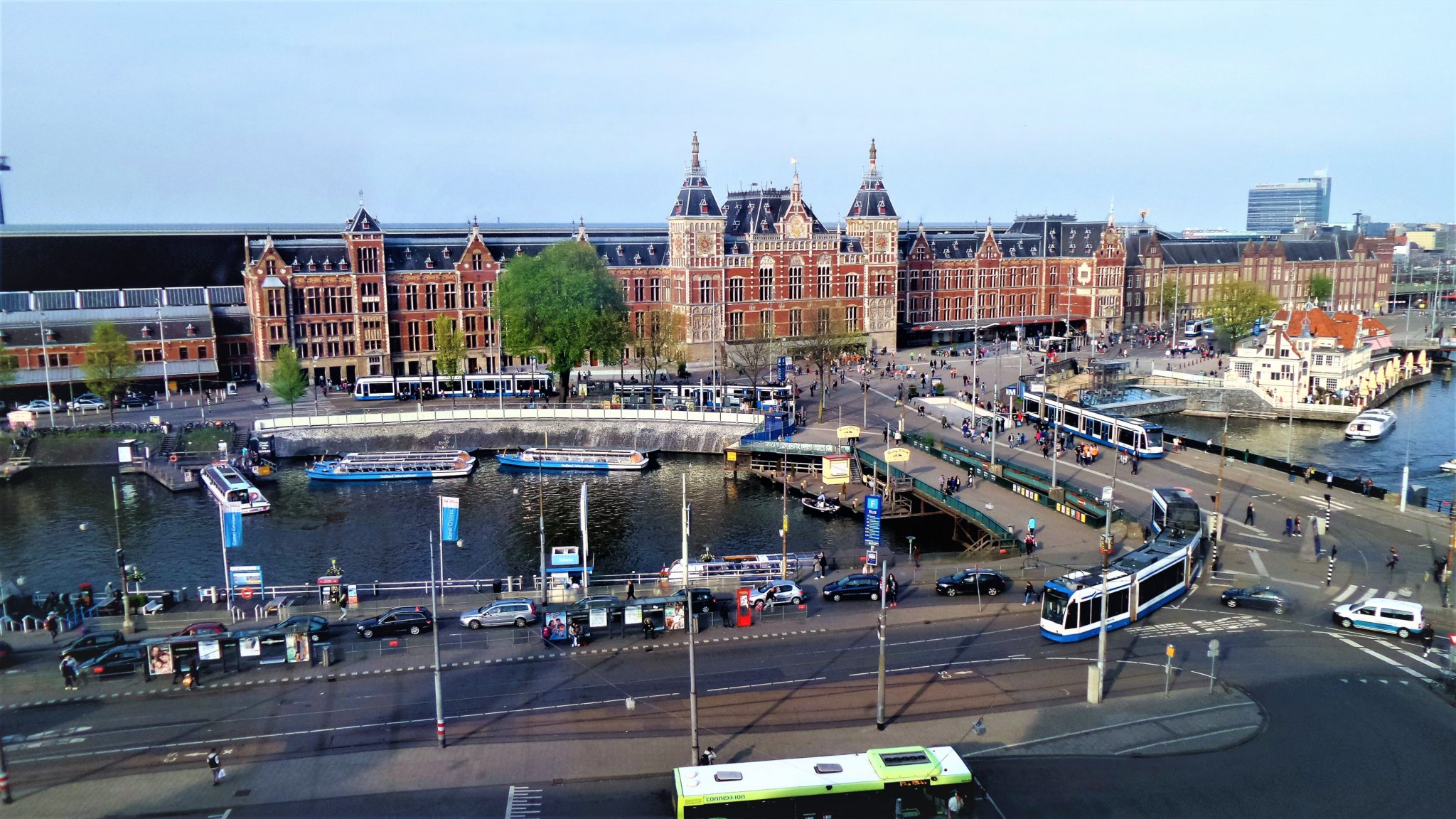 Amsterdam Central train Station, Holland