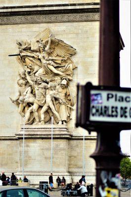 Arc de triomphe, Paris, France artwork