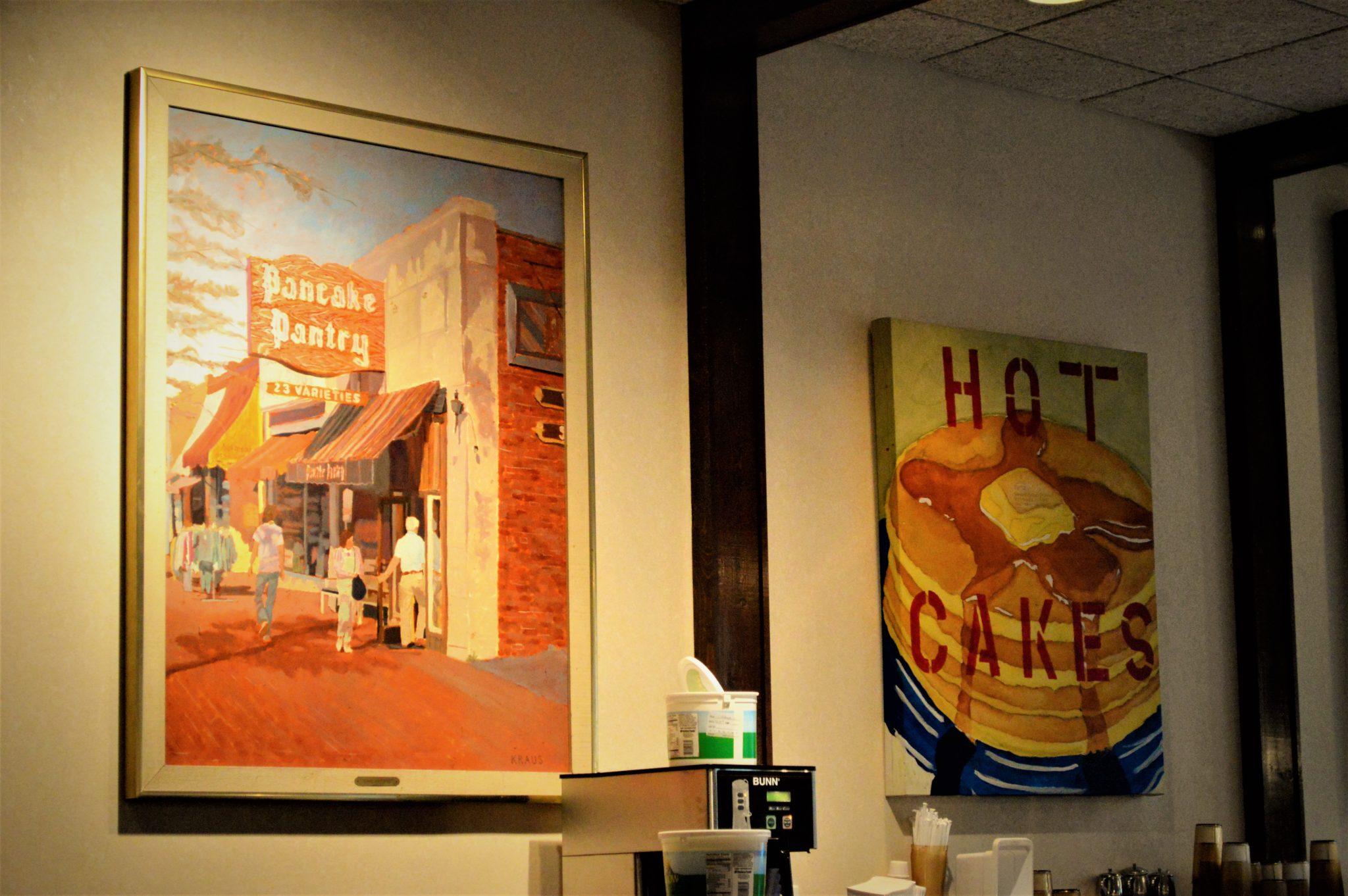 Art work, Pancake Pantry, Nashville, TN