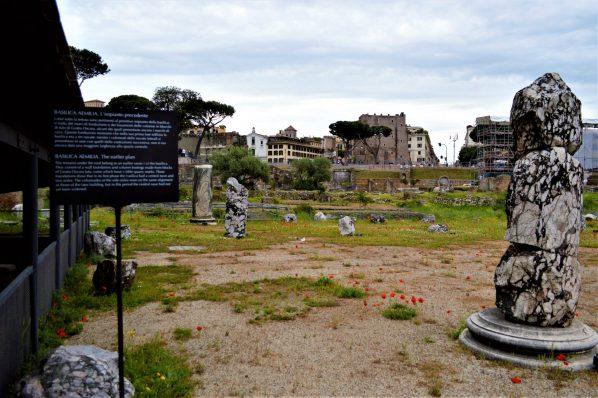 Basilica Aemelia, Roman Forum, Rome, Italy