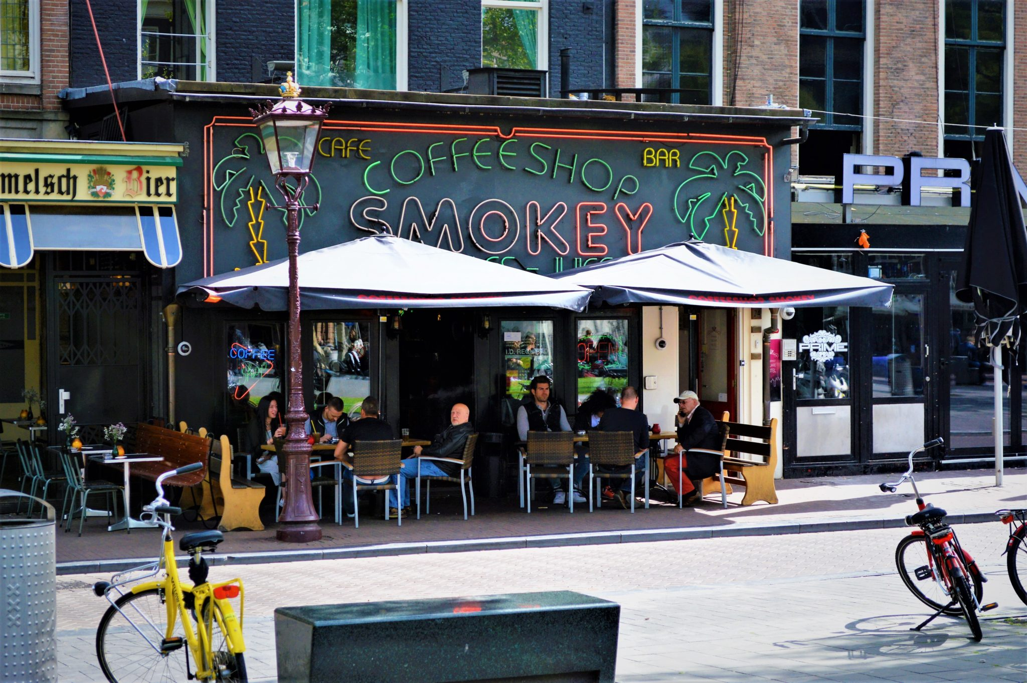 Coffee Shop Smokey, Amsterdam, Holland