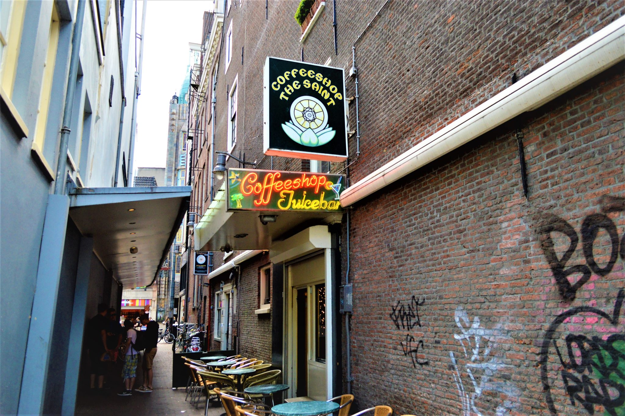 Coffee shop, Amsterdam, Holland