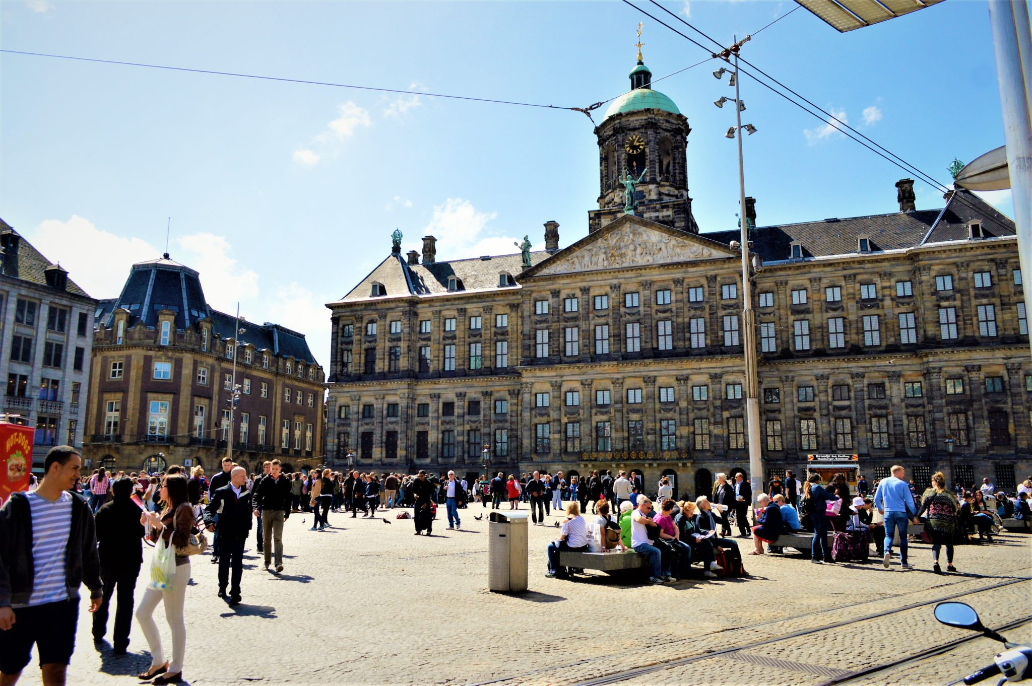 Dam Square, Amsterdam, Holland