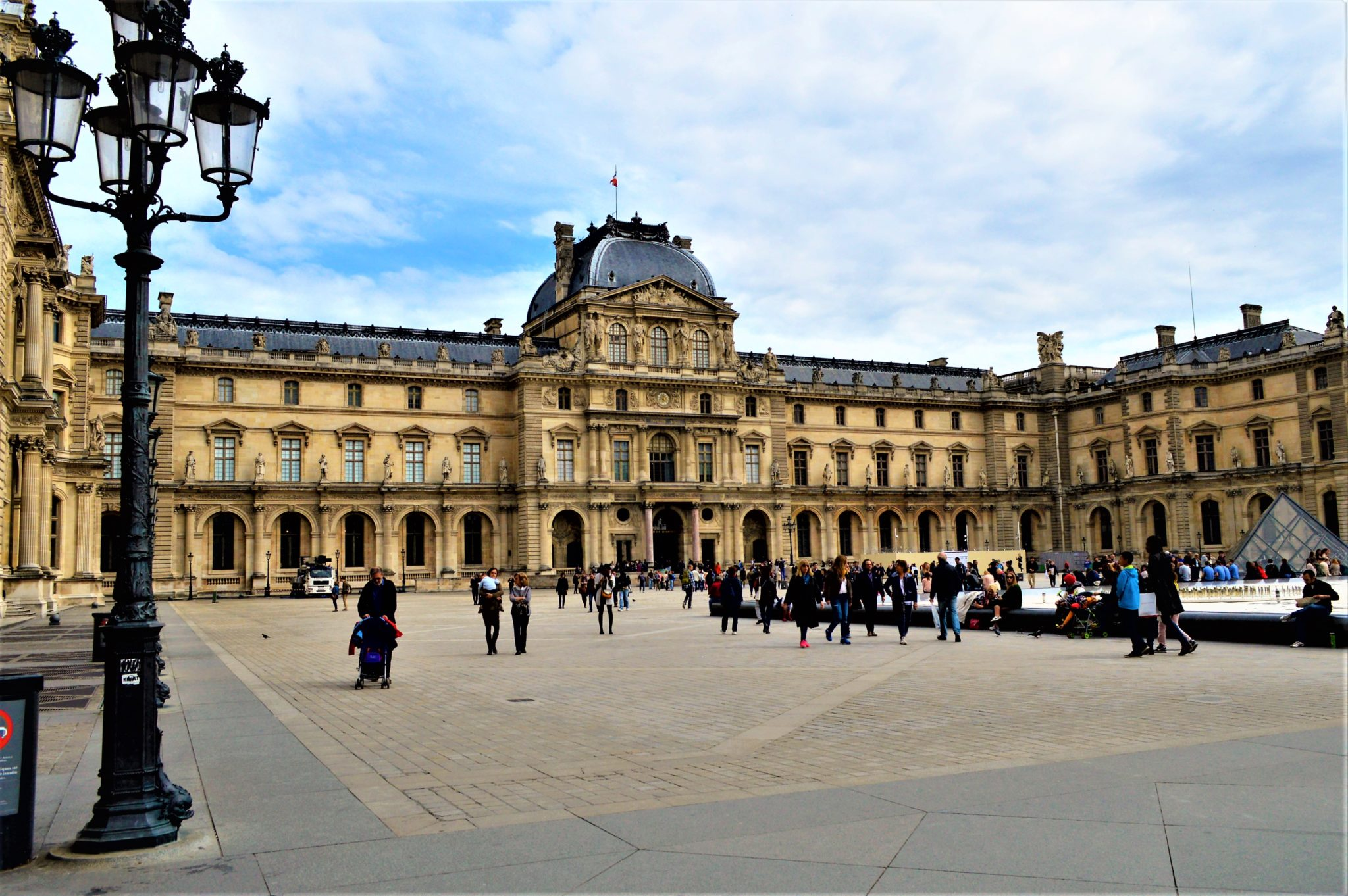 Grounds of the Louvre, Paris, France