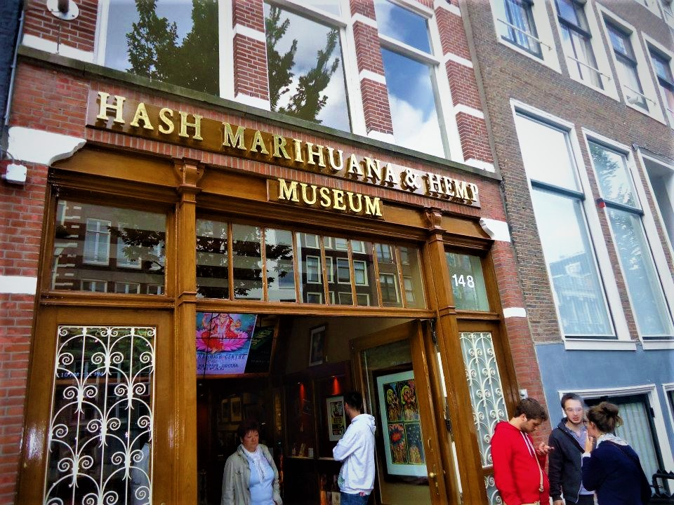 Hash and hemp museum, Amsterdam, Holland