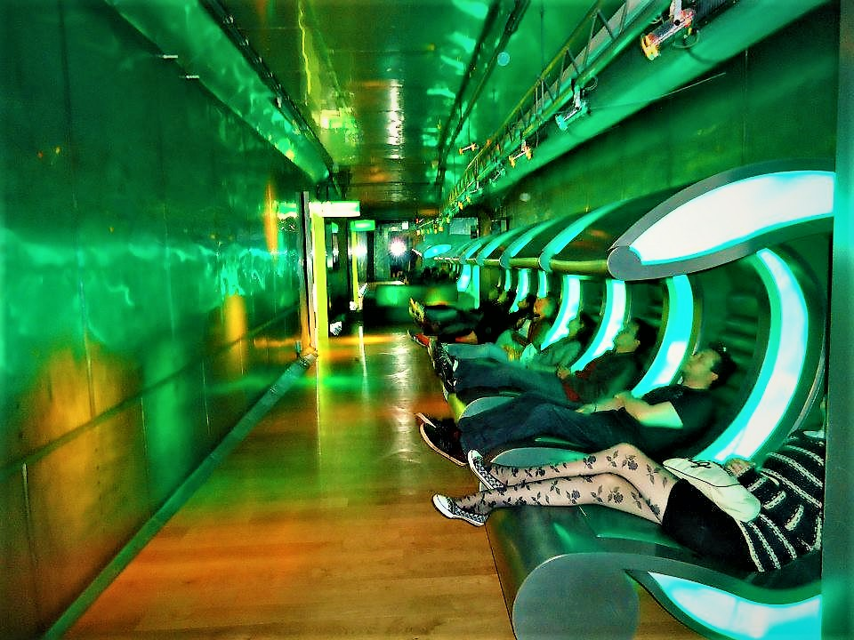 Heineken TV chairs, Amsterdam Holland