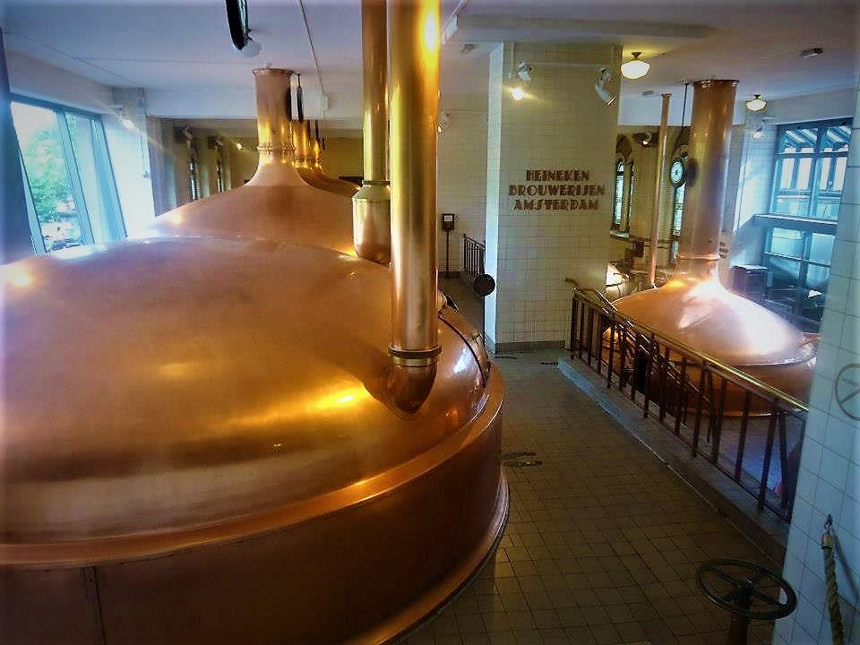 Heineken Brewery, Amsterdam, Holland