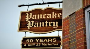 Pancake Pantry sign, Nashville, TN