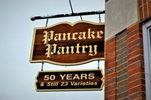 Pancake Pantry sign, Nashville, TN