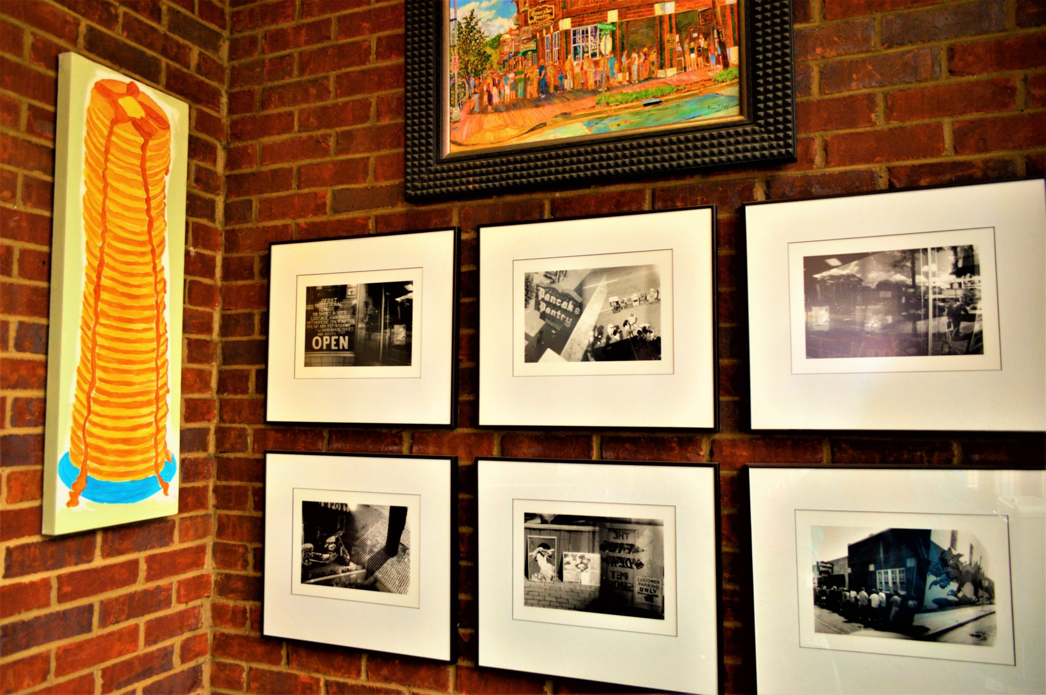 Pictures at the Pancake Pantry, Nashville, Tennessee
