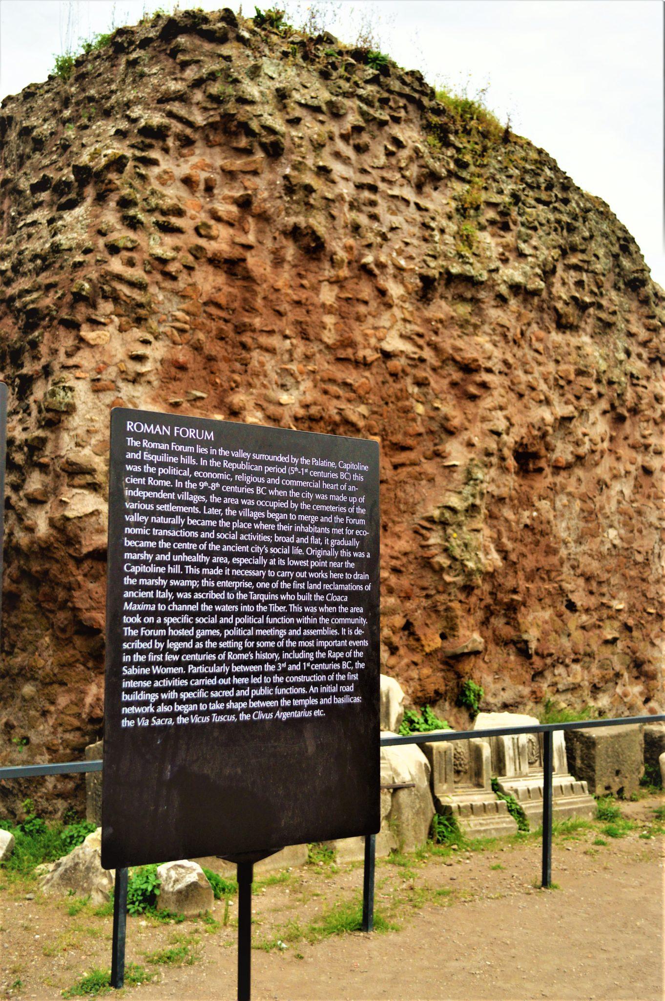 Roman Forum tours, Rome, Italy