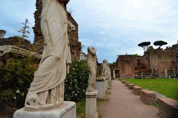 Statues in the Roman Forum, things to do in Rome, Italy