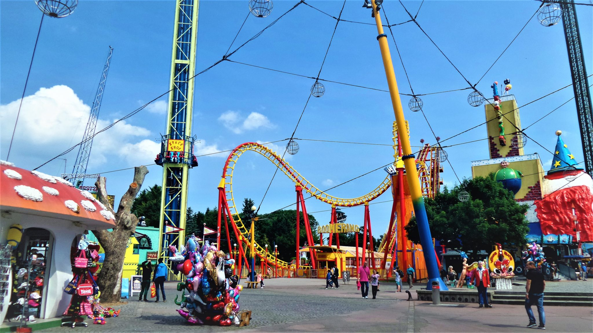 Prater fairground rides, 2 days in Vienna, Austria