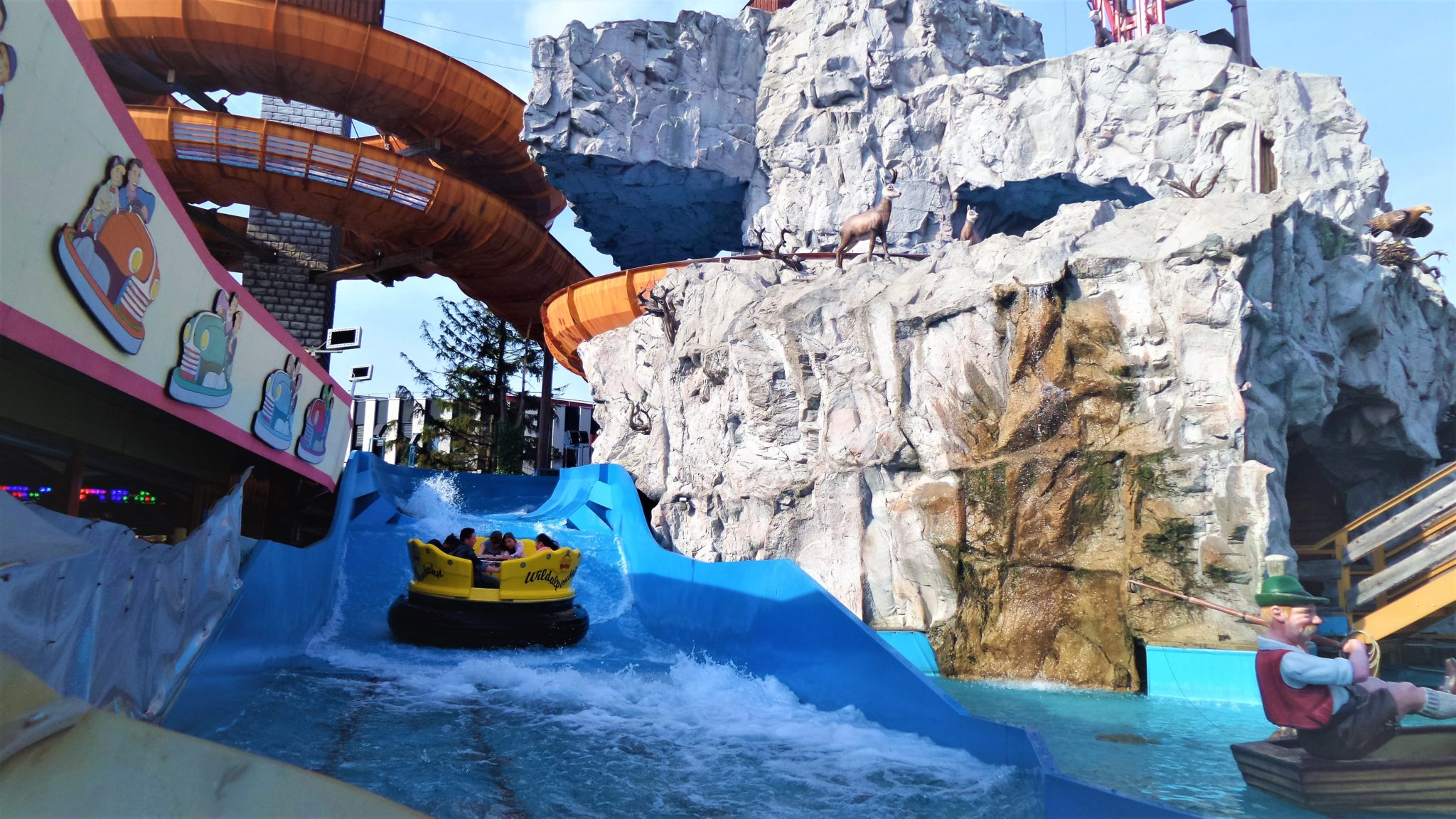 Prater water ride, 2 days in Vienna, Austria