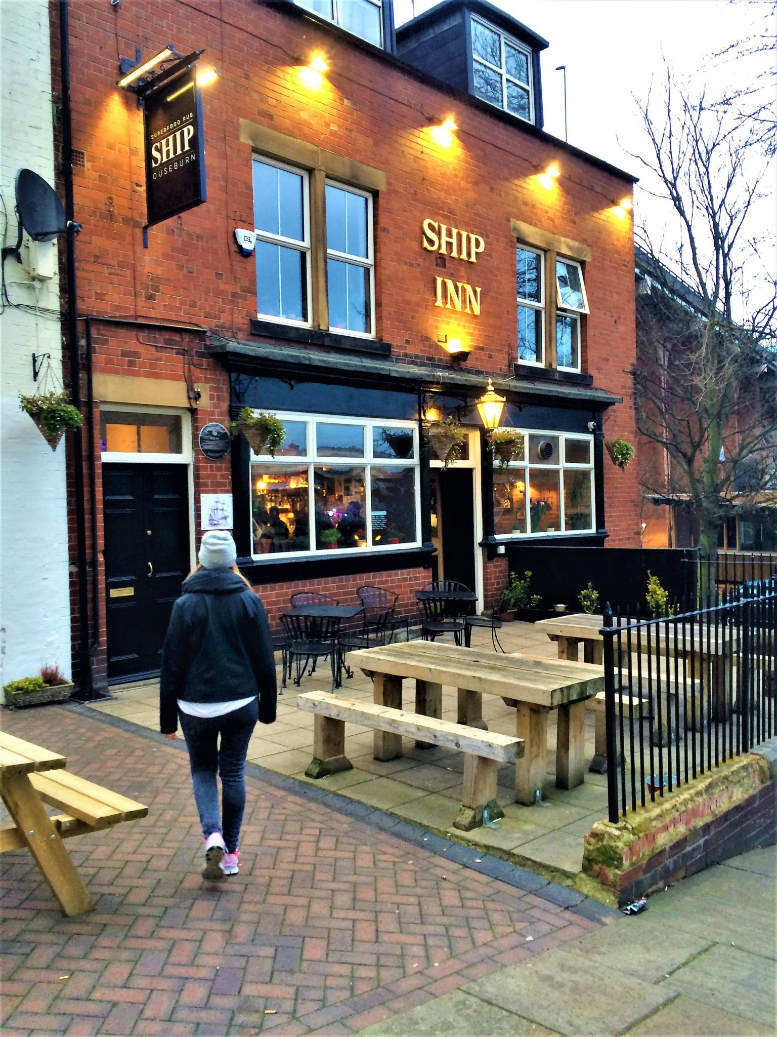 Ship Inn Ouseburn Newcastle Upon Tyne UK vegan menu review