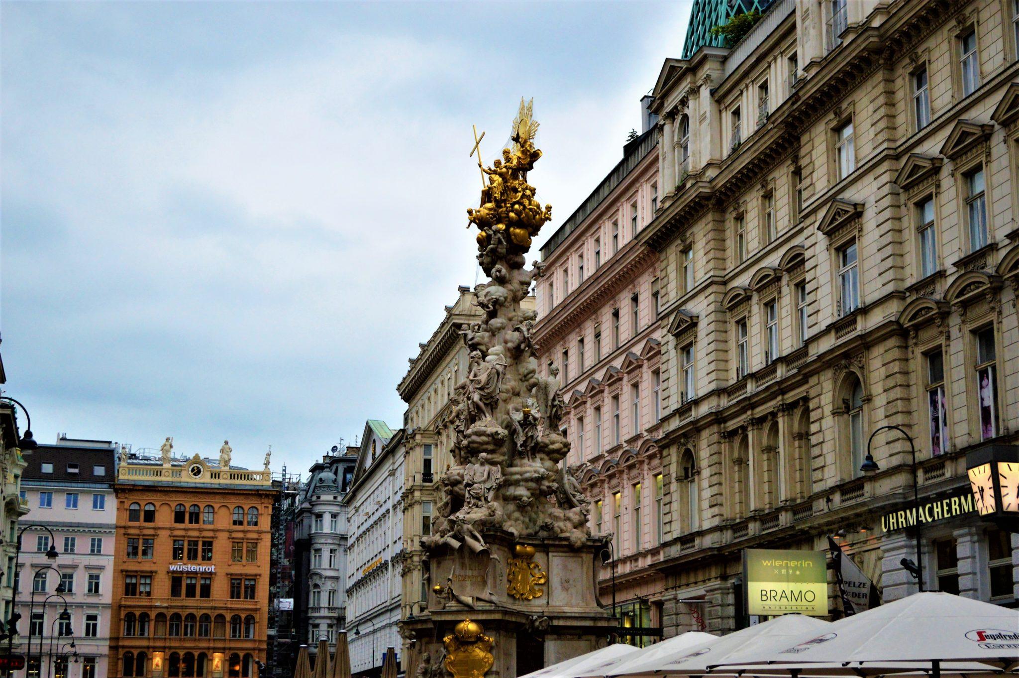 Statue in Vienna, Austria