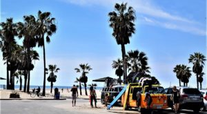 Picture of Venice beach, LA, California