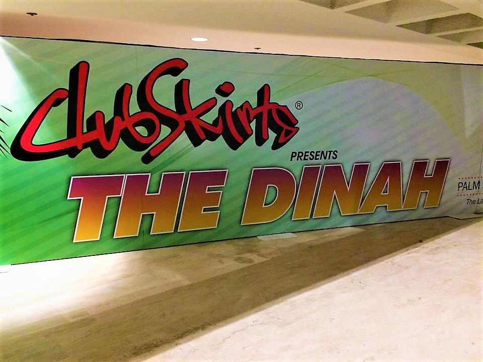 Hilton Hotel reception, Dinah Shore Weekend, Palm Springs, California