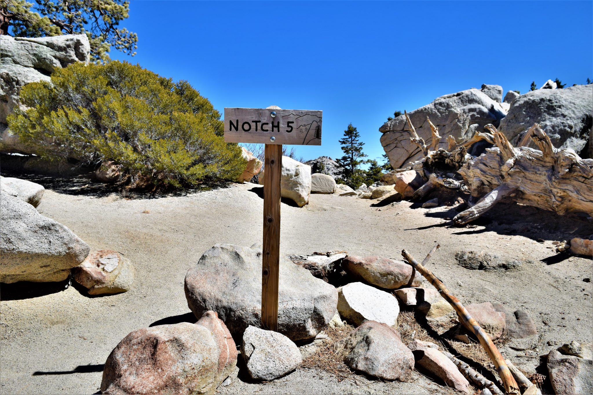 Notch 5 san jacinto state park palm springs california