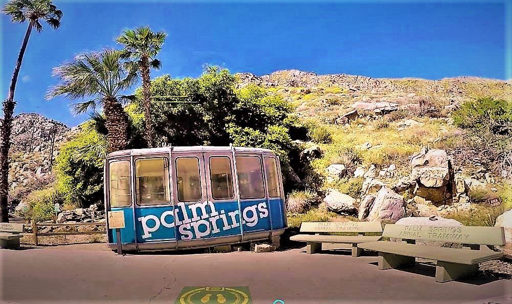 Original Tram Palm Springs tramway, California