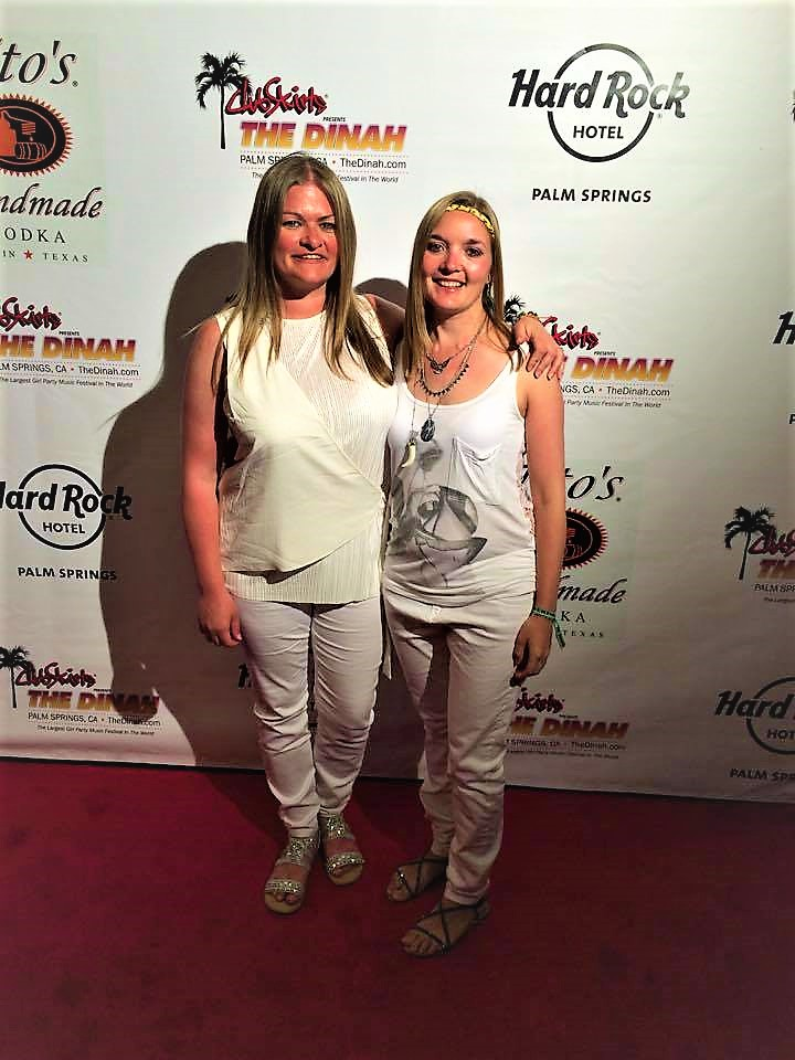 White party, Dinah Shore Weekend, Palm Springs, California