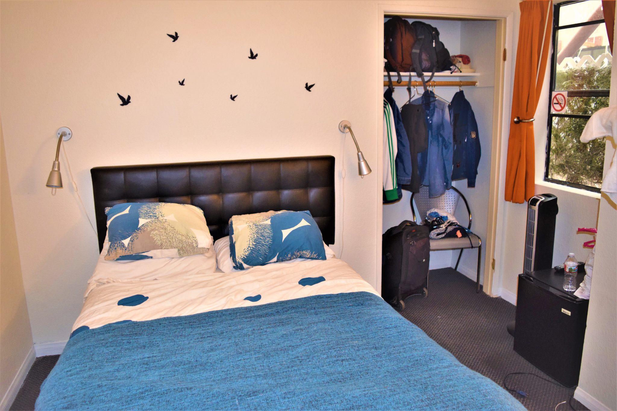 Private room, double bed, Samesun Venice Beach Hostel, Los Angeles, California