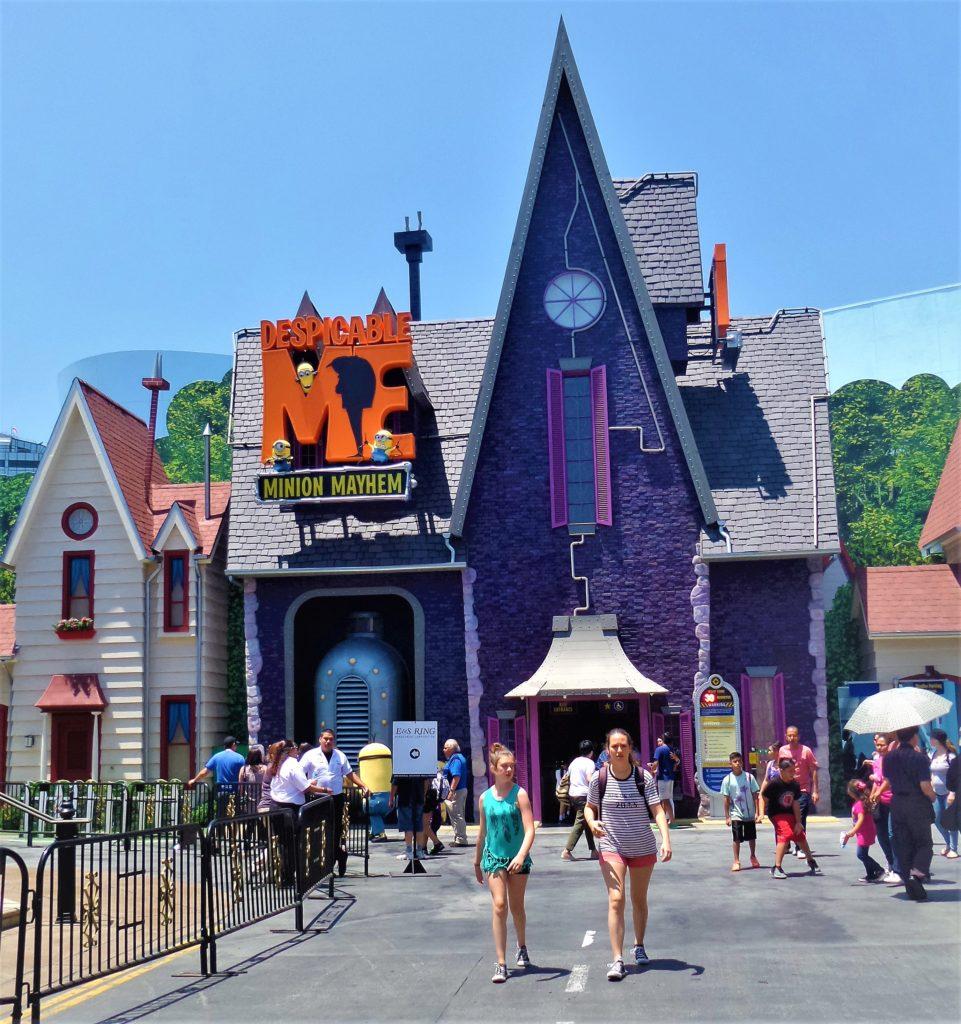 Cheap Studios For Rent Near Me: Despicable Me Minion Mayhem, Universal Studios Hollywood