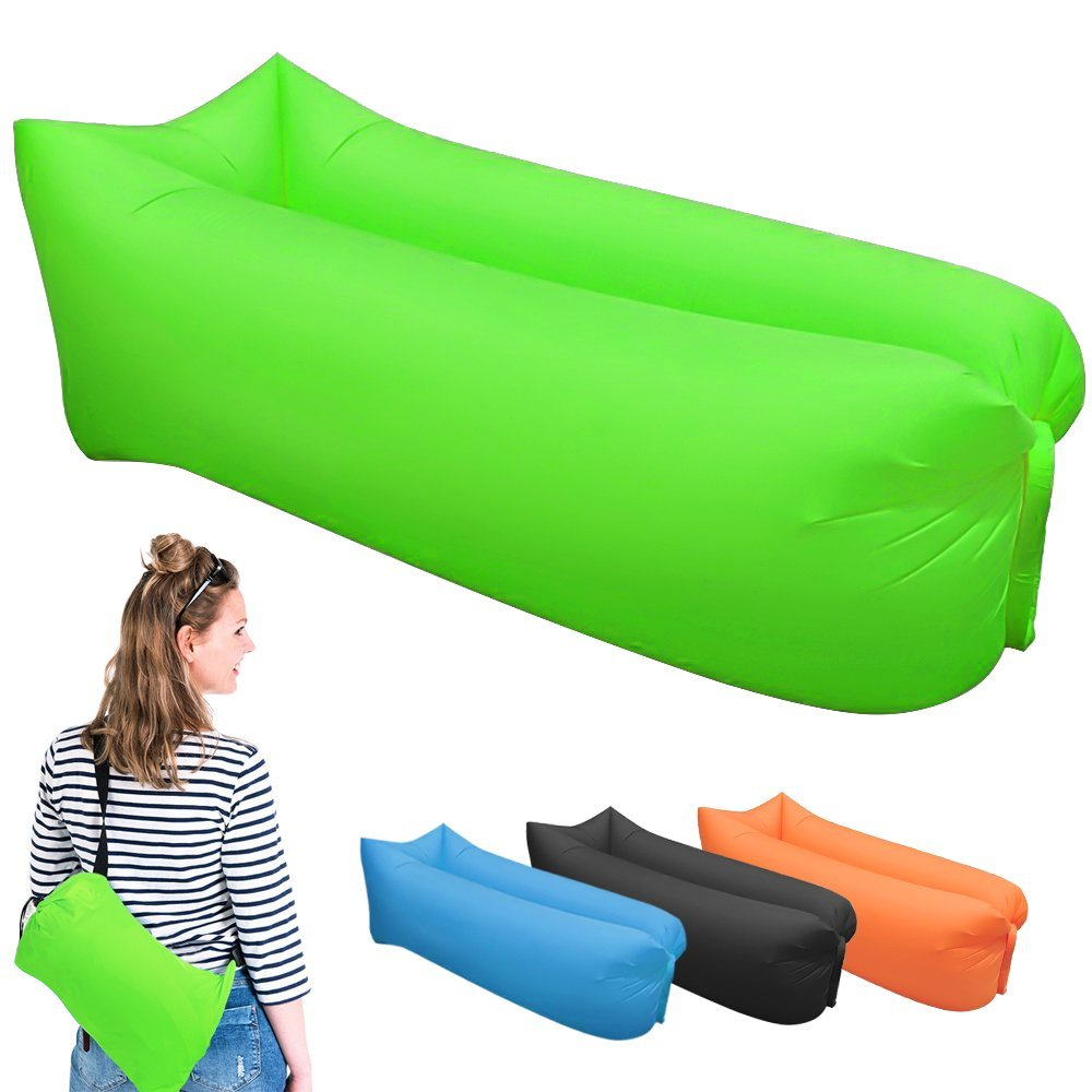 Inflatable lounger festival amazon
