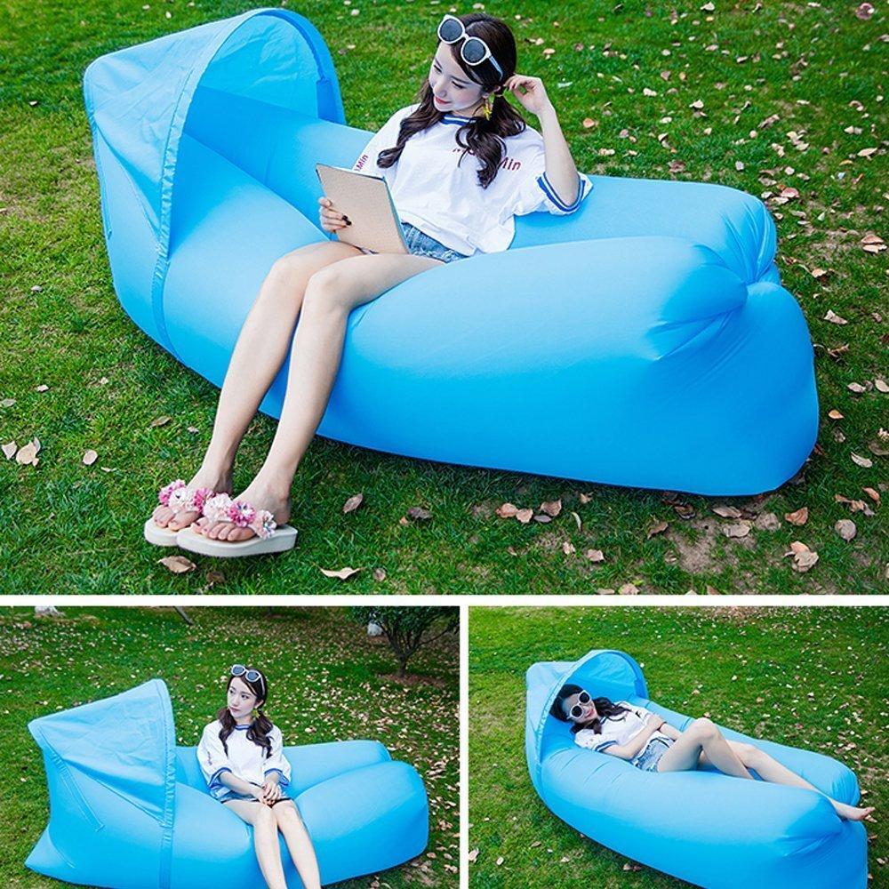 Inflatable sofa lounger sun umbrella, amazon