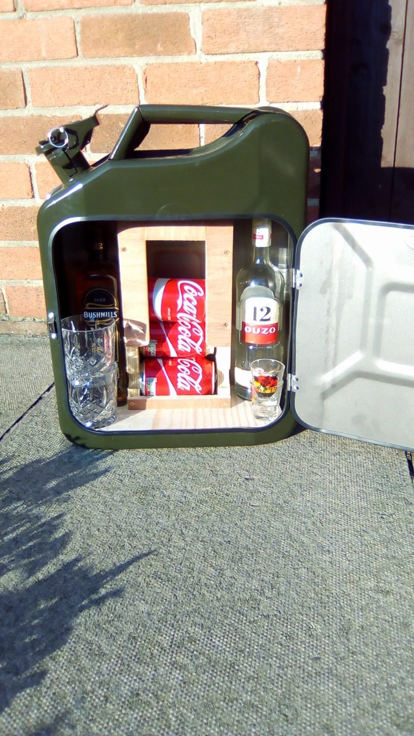 Jerry Can Mini bar buy on amazon festivals camping