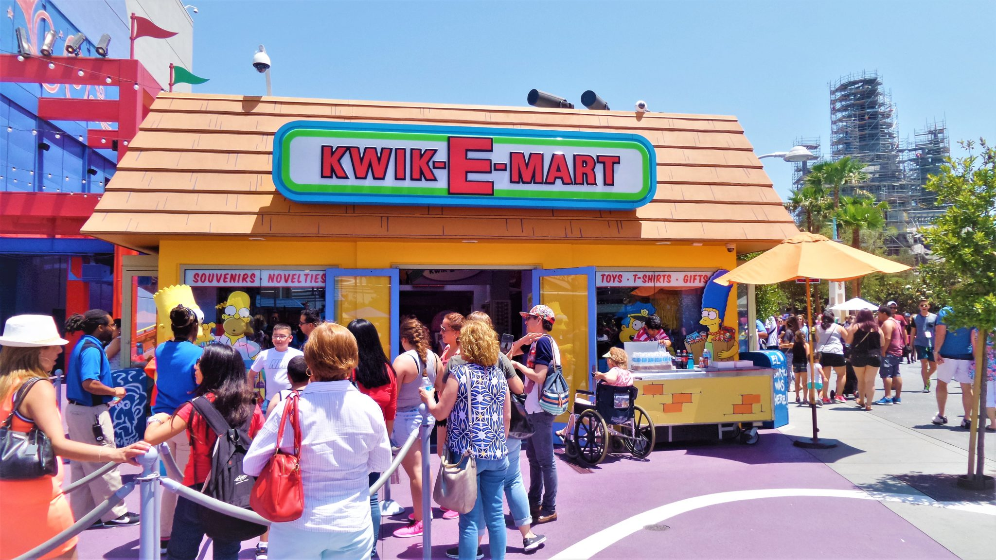 Kwik E Mart, springfield simpsons Universal Studios Hollywood