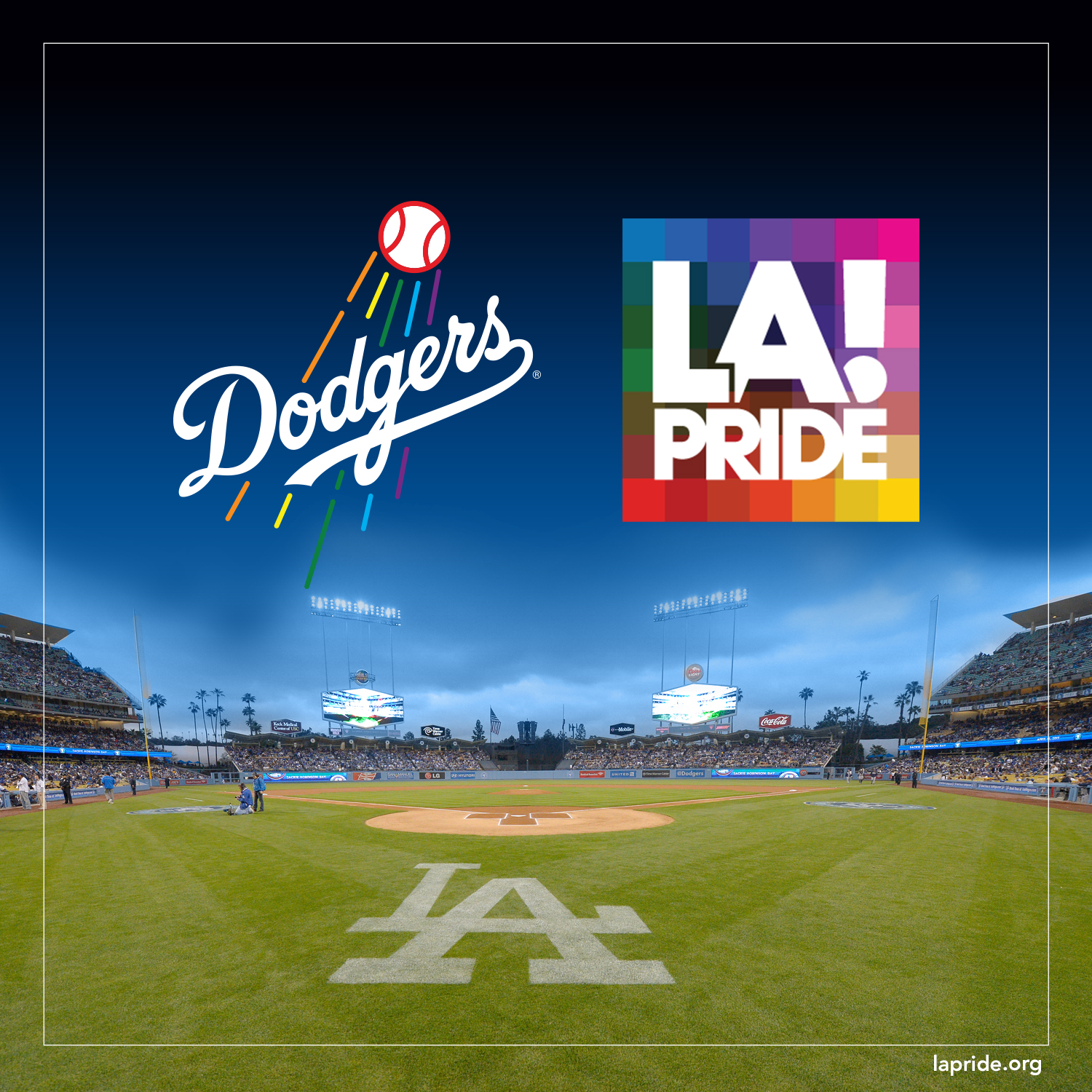LGBT night Dodgers stadium, LA pride event, california