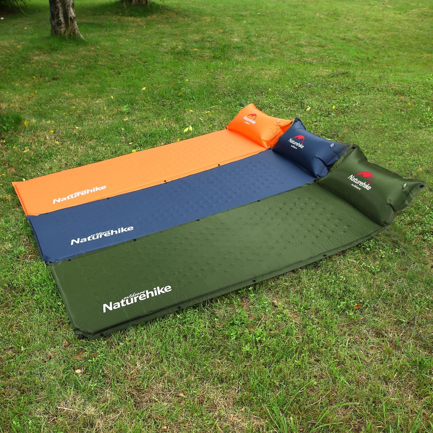 Self inflating camping mat blow up bed, amazon