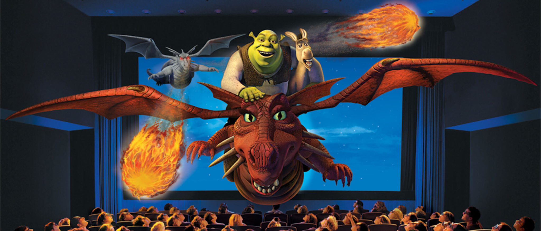Shrek 4D ride Universal Studios Hollywood attraction and tips